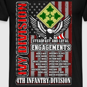 4th Infantry division - Ivy division for US - Men's Premium T-Shirt