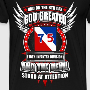 75th Infantry division - The 8th day god created - Men's Premium T-Shirt