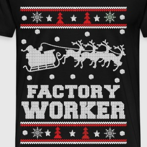 Factory worker - Awesome worker christmas sweater - Men's Premium T-Shirt