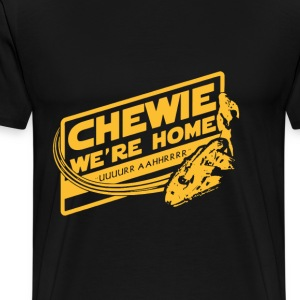 Chewie - Awesome t-shirt for Han solo fans - Men's Premium T-Shirt