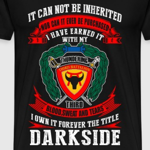 Darkside - I've earned it with my blood t-shirt - Men's Premium T-Shirt