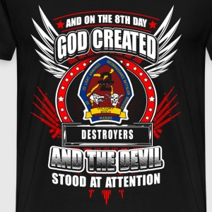 Destroyer - On the 8th day god created destroyer - Men's Premium T-Shirt