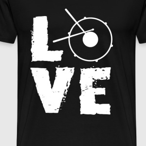 Drummer - Love drum awesome t-shirt for drummer - Men's Premium T-Shirt