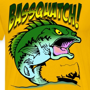 BasSquatch! - Men's Premium T-Shirt