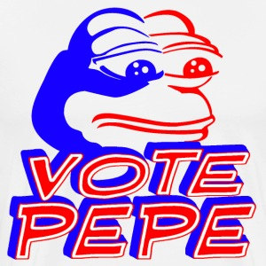 Vote Pepe white T-shirt - Men's Premium T-Shirt