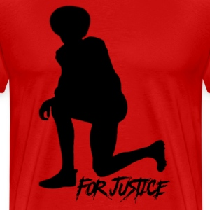 Kneel for Justice - Men's Premium T-Shirt