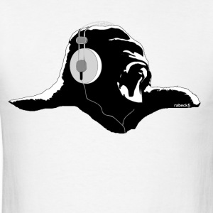 Gorilla with headphones T-Shirts - Men's T-Shirt