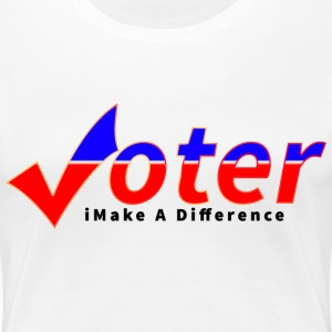 Womens Voter T-Shirt - Women's Premium T-Shirt