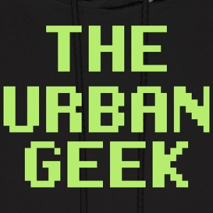 Light Green Urban Geek  - Men's Hoodie