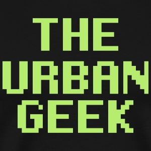 Green Urban Geek - Men's Premium T-Shirt