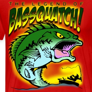 The Legend Of BasSquatch - Men's Premium T-Shirt