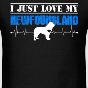 Love My Newfoundland - Men's T-Shirt