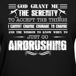 Airbrushing T-shirt - Women's T-Shirt
