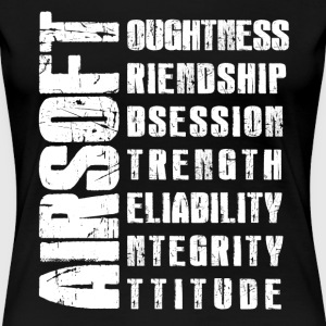 Airsoft Virtues Shirt - Women's Premium T-Shirt