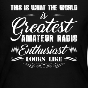 Amateur Radio Enthusiast - Women's Long Sleeve Jersey T-Shirt