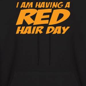 RED GINGER HAIR DAY - Men's Hoodie