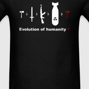 EVOLUTION For HUMANITY - Men's T-Shirt
