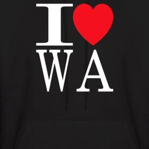 I Love Washington - Men's Hoodie