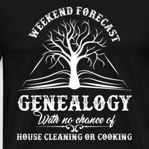 Genealogy Shirt - Men's Premium T-Shirt