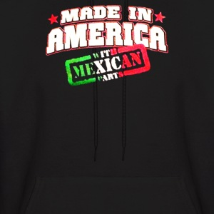Made In America with Mexican Parts - Men's Hoodie