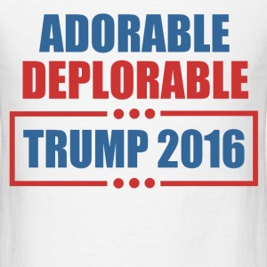 adorable deplorable trump 2016 - Men's T-Shirt