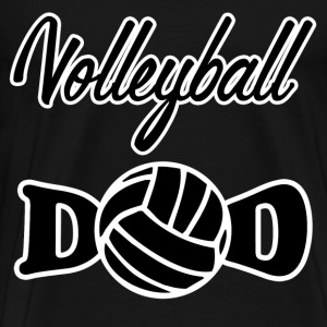 volley ball dad5623.png T-Shirts - Men's Premium T-Shirt