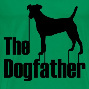 the dogfather1.png T-Shirts - Men's Premium T-Shirt