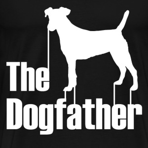 the dogfather2.png T-Shirts - Men's Premium T-Shirt