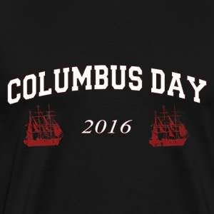 Columbus Day 2016 - Men's Premium T-Shirt
