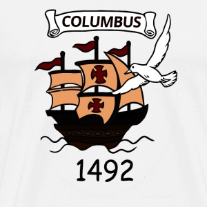 Columbus 1492 - Men's Premium T-Shirt
