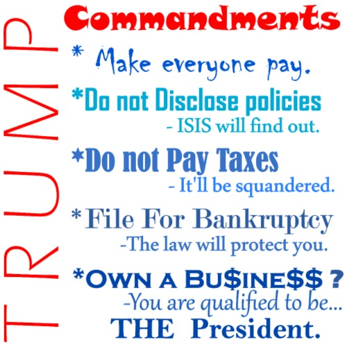 Trump Commandments