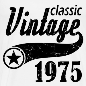 classic vintage 1975,made in 1975,born in 1975 ,19 - Men's Premium T-Shirt