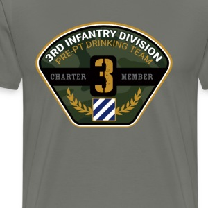 3rd Infantry Division Drinking Team - Men's Premium T-Shirt
