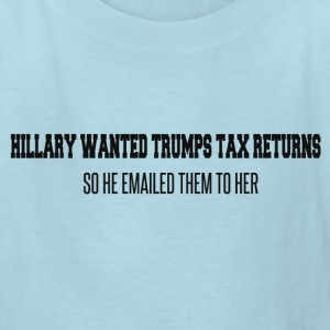 TRUMPS TAXES Kids' Shirts - Kids' T-Shirt