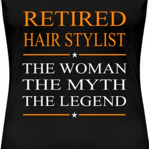 Hair stylist - The woman the myth the legend tee - Women's Premium T-Shirt