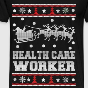 Health care worker - Awesome christmas sweater - Men's Premium T-Shirt