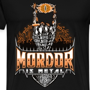 Lord of the ring - Mordor is metal t-shirt for f - Men's Premium T-Shirt