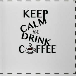 Keep Calm and drink Coffee - Panoramic Mug