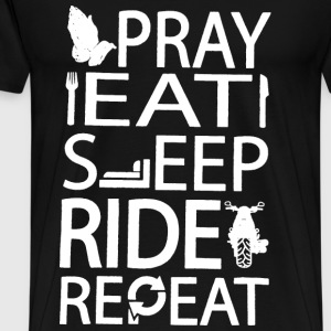 Riders prayer Repeatation t-shirt for rider - Men's Premium T-Shirt