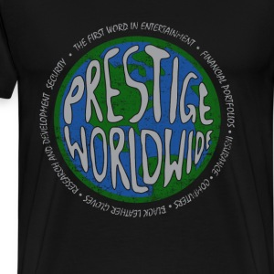 Prestige worldwide - First word in entertainment - Men's Premium T-Shirt