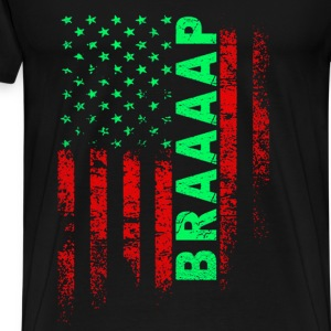 Motorcycle - Awesome motorcycle braaap - Men's Premium T-Shirt