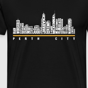 Perth city - Awesome t-shirt for Perth lovers - Men's Premium T-Shirt