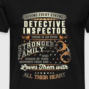 Police officer - Inspector family t-shirt - Men's Premium T-Shirt