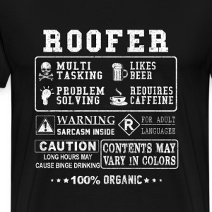 Roofer - Freaking awesome t-shirt for roofer - Men's Premium T-Shirt