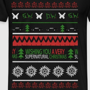 Supernatural - I Wish you a very supernatural xmas - Men's Premium T-Shirt