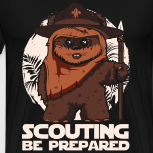 Scout - Scouting be prepared awesome tee - Men's Premium T-Shirt