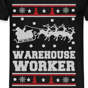 Warehouse worker - Cool christmas worker sweater - Men's Premium T-Shirt