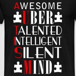 Uber - Awesome uber talented intelligent tee - Men's Premium T-Shirt