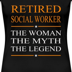 Social worker - The woman the myth the legend tee - Women's Premium T-Shirt