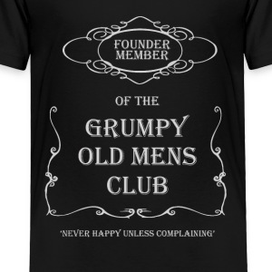 Grumpy Old Man Club - Toddler Premium T-Shirt
